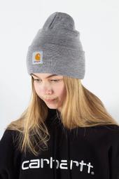 Acrylic Watch Hat - Grey Heather - Carhartt - Grå One Size
