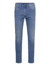 Anbass Trousers X-lite Slim Jeans Blå Replay