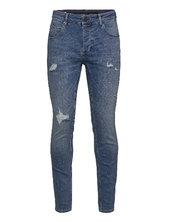 Rey K3518 Lt. Jeans Slim Jeans Blå Gabba