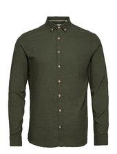 Dean Diego Cotton Shirt Skjorte Casual Grøn Kronstadt