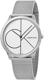 Calvin Klein 99999 Herreur K3m5115x Hvid/stål Ø40 Mm