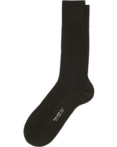 Falke No. 7 Finest Merino Ribbed Socks Brown