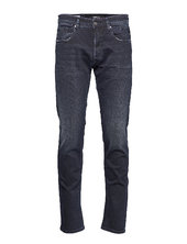 Anbass Trousers 573 Bio Slim Jeans Blå Replay