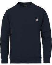 Ps Paul Smith Regular Fit Zebra Sweatshirt Navy