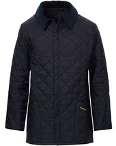 Barbour Lifestyle Classic Liddesdale Jacket Navy