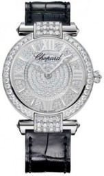Chopard Imperiale Dameur 384242-1001 Diamantudsmykket/læder Ø36 Mm