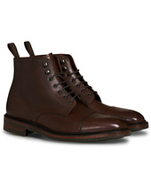 Loake 1880 Roehampton Boot Dk Brown Burnished Calf