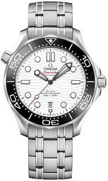 Omega Seamaster Diver 300m Herreur 210.30.42.20.04.001 Hvid/stål