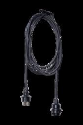TrÅden Ledning Til Udendørs Brug E27 - 5 M Black