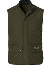 Belstaff Waistcoat Quilted Faded Olive