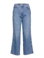Mom Relaxed Vide Jeans Blå Wrangler