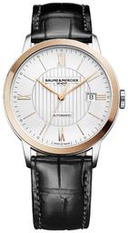 Baume & Mercier Classima Herreur M0a10216 Sølvfarvet/læder Ø40