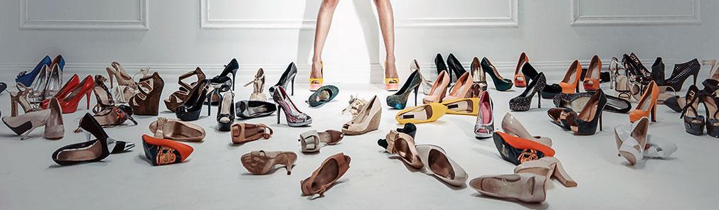 Masser af sko