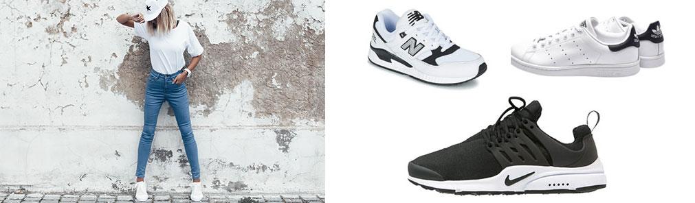 Forskellige sneakers