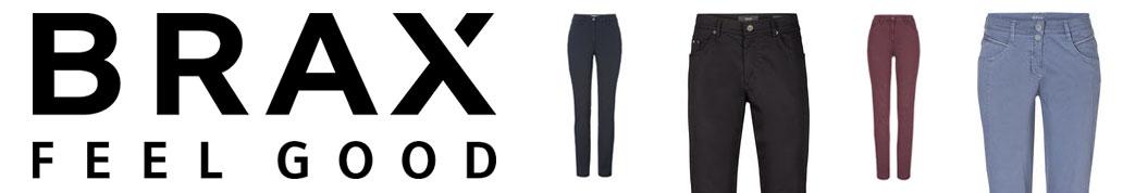 Brax bukser og logo