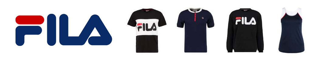 Fila logo og Fila tøj