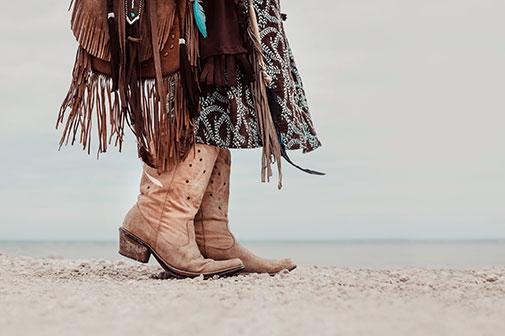 Flotte cowboystøvler