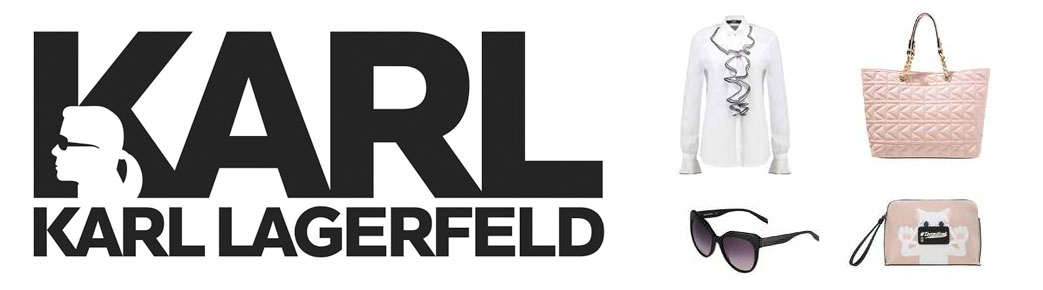 Karl Lagerfeld logo og produkter