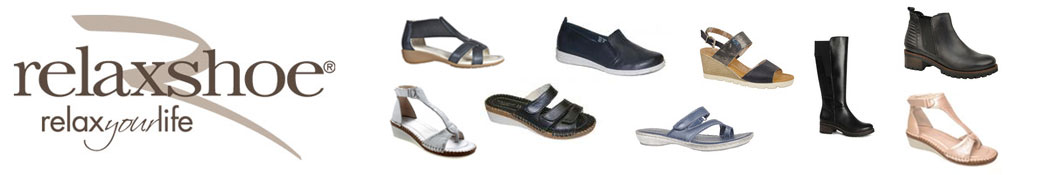 Relaxshoe sko og logo