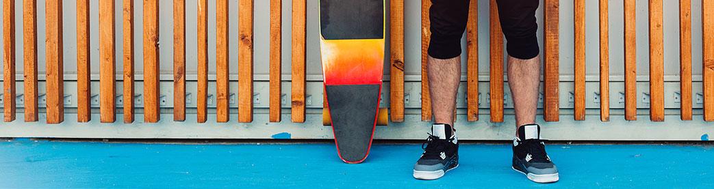 Sorte skater sneakers