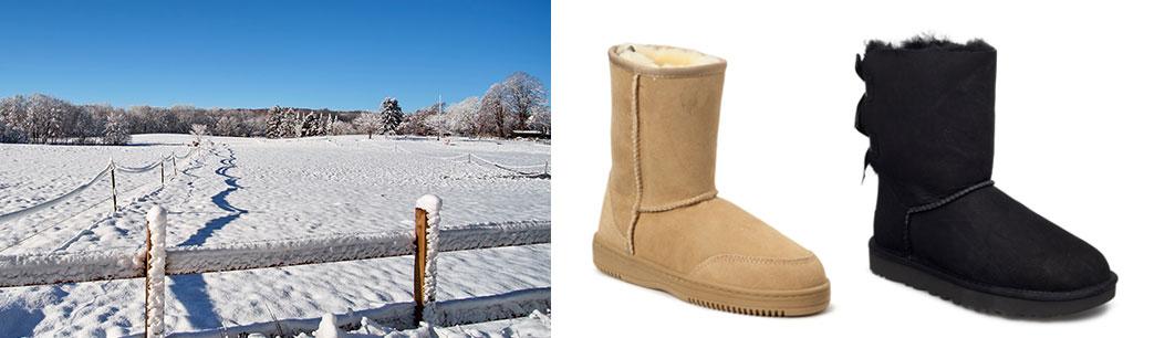 Vinter med bamsestøvler