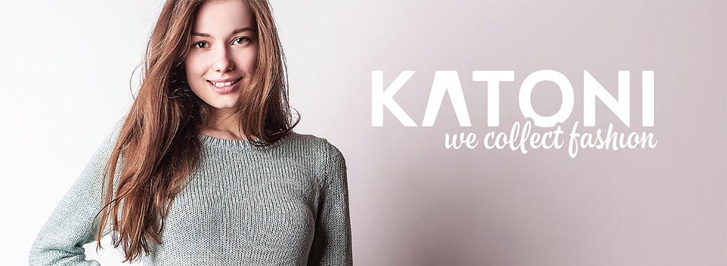 Flot pige og Katoni logo