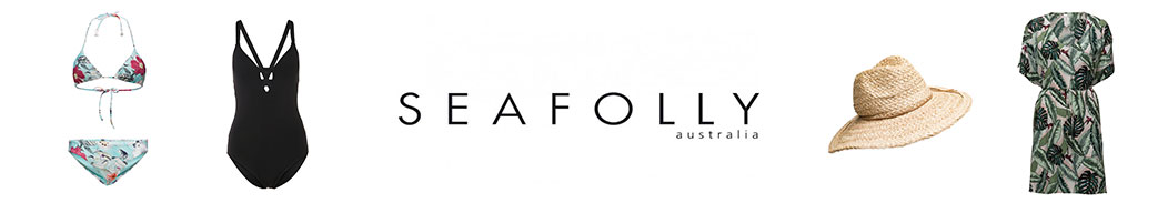 Seafolly badetøj, strandtøj og logo