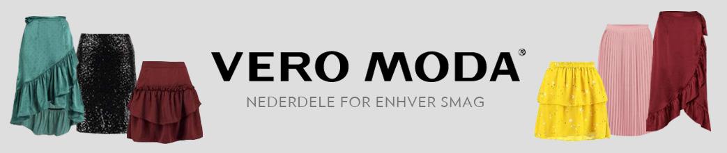 Lange og korte nederdele samt Vero Moda logo