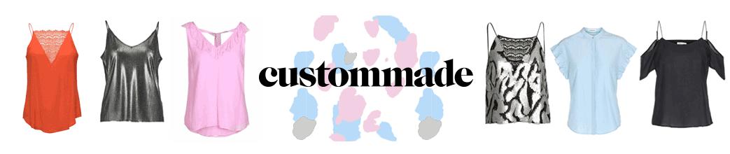 Custommade logo og toppe i forskellige farver