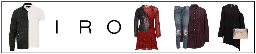 Tøj til mænd og kvinder fra IRO