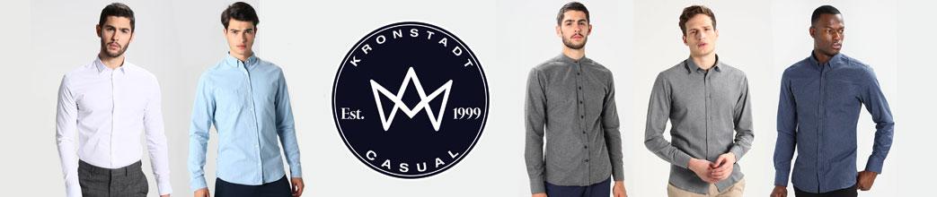 Herre modeller i skjorter og Kronstadt logo