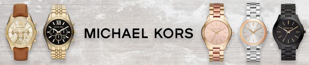 Ure i forskellige metaller fra Michael Kors