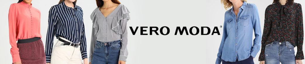 Kvinder i forskellige skjorter fra Vero Moda