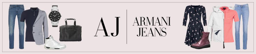 Armani jeans logo og tøj, sko og accessories til mænd og kvinder