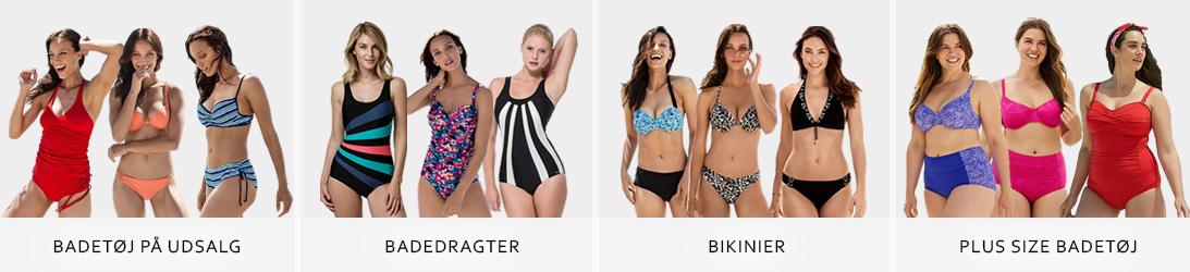 Pige i bikini