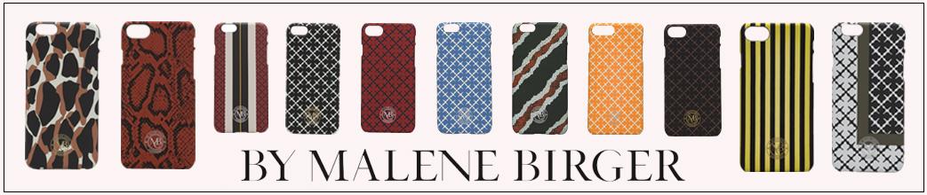 Mobilcovers fra By Malene Birger i forskellige farver og prints