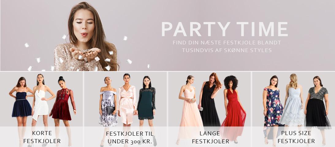 445930f0f74 Festkjoler - Find korte, lange og billige kjoler til fest | Katoni.dk