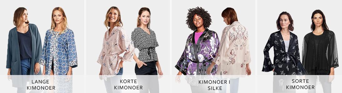 Kvinder i kimonoer