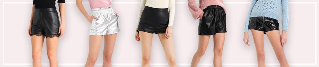 Kvinder i lædershorts og bare ben