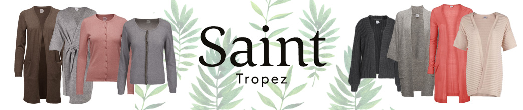 Korte og lange Saint Tropez cardigans