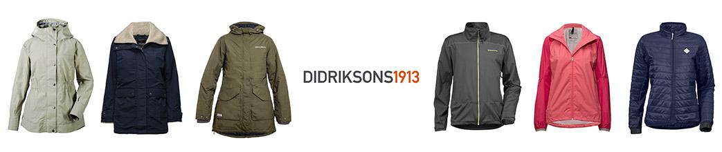 Didriksons jakker til mænd og kvinder