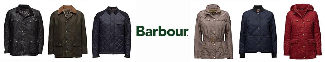 Barbour jakker til damer og herrer